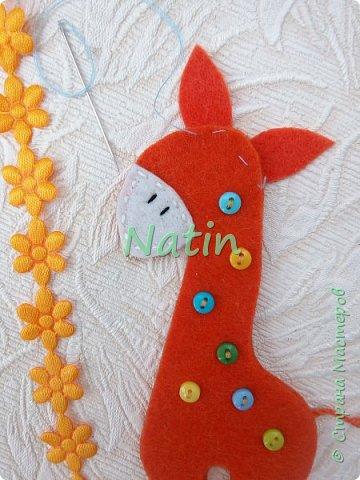 Как-то у нас было оранжевое настроение... И пошились такие жирафики... фото 17
