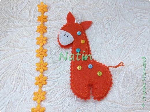 Как-то у нас было оранжевое настроение... И пошились такие жирафики... фото 32