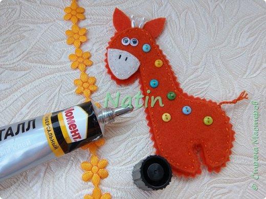 Как-то у нас было оранжевое настроение... И пошились такие жирафики... фото 33