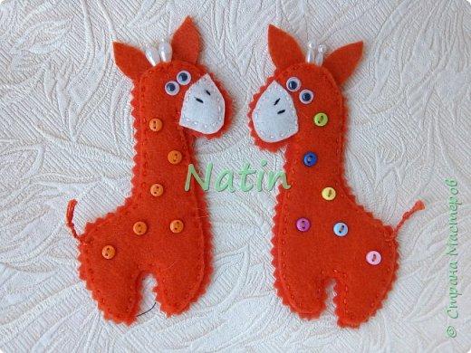 Как-то у нас было оранжевое настроение... И пошились такие жирафики... фото 35