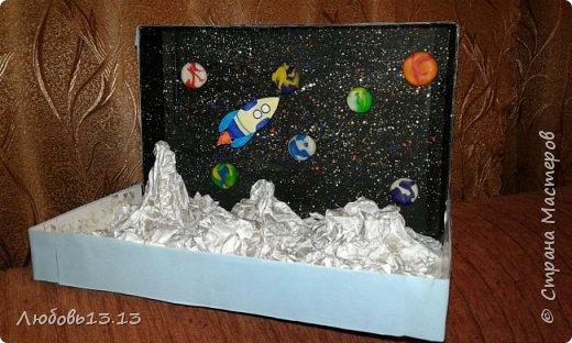 Это произведение делала племяннику в школу,была тема космоса. фото 1