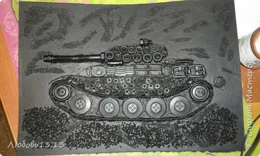 Опять же насмотревшись работ мастериц,захотелось тут же повторить)))И вот получился такой танк. фото 4
