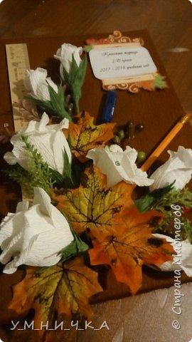 Коробка конфет преобразованная в классный журнал. фото 2
