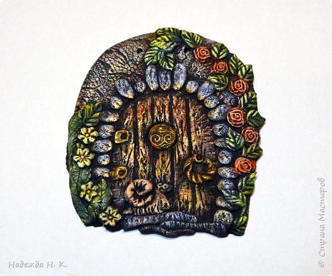 Здравствуйте! Однажды я побывала в гостях у Светы(        http://stranamasterov.ru/user/179448        ), увидела ее волшебные дверцы из соленого теста, позавидовала, долго носила в сердце идею, а теперь выставляю на ваш суд свои. фото 5