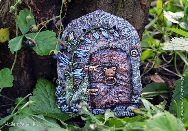 Здравствуйте! Однажды я побывала в гостях у Светы(        http://stranamasterov.ru/user/179448        ), увидела ее волшебные дверцы из соленого теста, позавидовала, долго носила в сердце идею, а теперь выставляю на ваш суд свои. фото 2