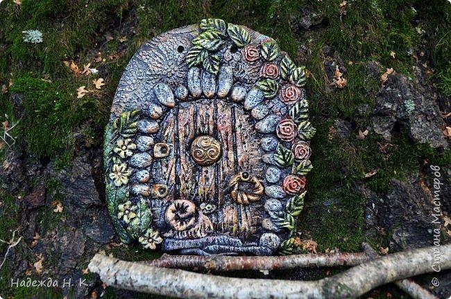 Здравствуйте! Однажды я побывала в гостях у Светы(        http://stranamasterov.ru/user/179448        ), увидела ее волшебные дверцы из соленого теста, позавидовала, долго носила в сердце идею, а теперь выставляю на ваш суд свои. фото 3