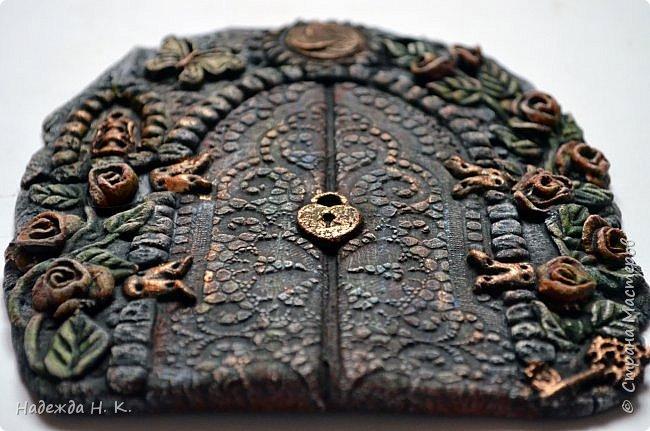Здравствуйте! Однажды я побывала в гостях у Светы(        http://stranamasterov.ru/user/179448        ), увидела ее волшебные дверцы из соленого теста, позавидовала, долго носила в сердце идею, а теперь выставляю на ваш суд свои. фото 16