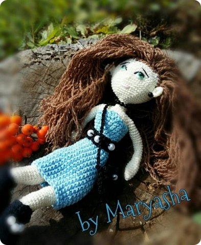 Связалась не так давно длинноногая куколка ростиком 24 см. Это первая моя такая мелкая работа. И далась мне не просто фото 3