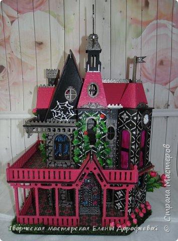 Кукольный замок в стиле Monster High фото 2