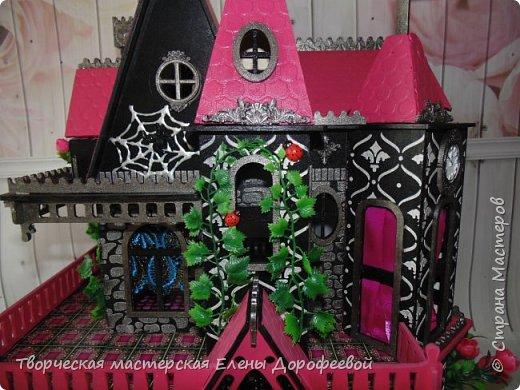 Кукольный замок в стиле Monster High фото 3