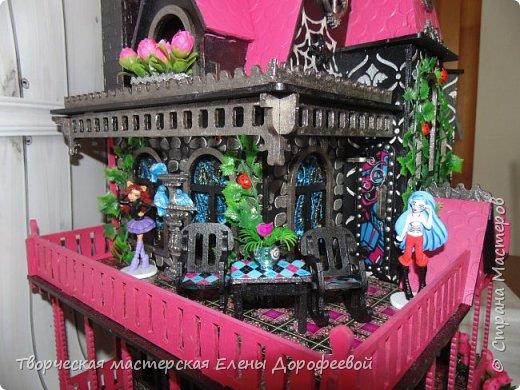 Кукольный замок в стиле Monster High фото 4