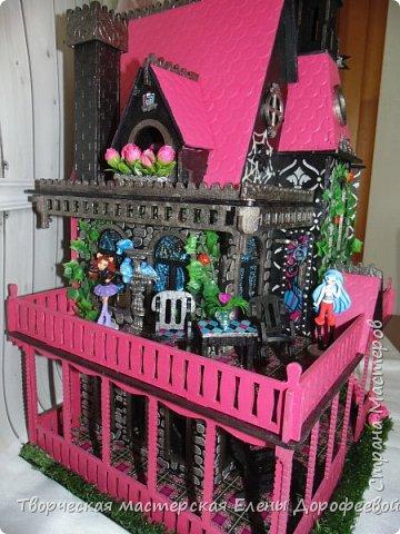 Кукольный замок в стиле Monster High фото 5