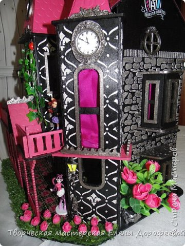Кукольный замок в стиле Monster High фото 6