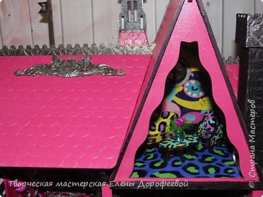 Кукольный замок в стиле Monster High фото 7