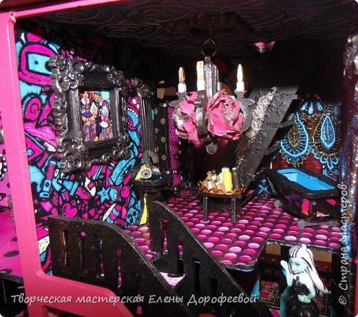 Кукольный замок в стиле Monster High фото 15