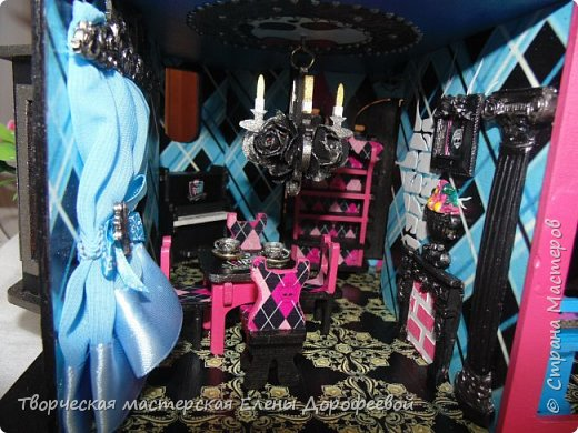 Кукольный замок в стиле Monster High фото 9