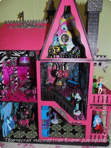 Кукольный замок в стиле Monster High фото 13