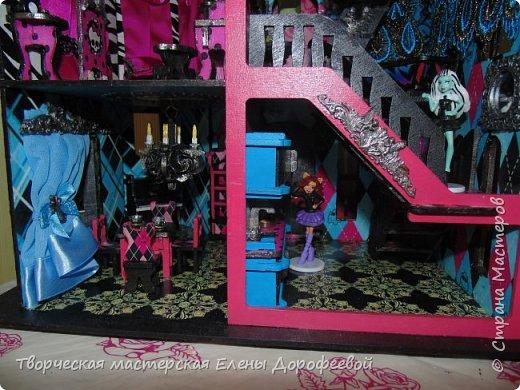 Кукольный замок в стиле Monster High фото 14