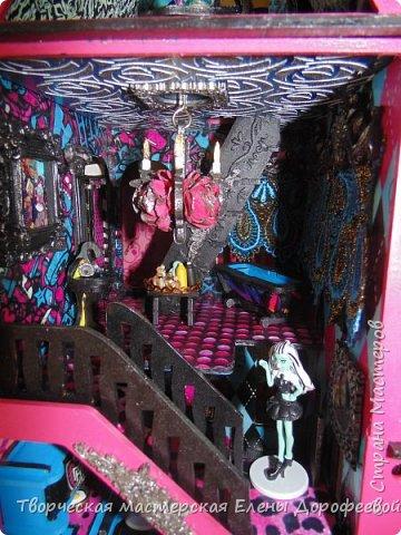 Кукольный замок в стиле Monster High фото 10