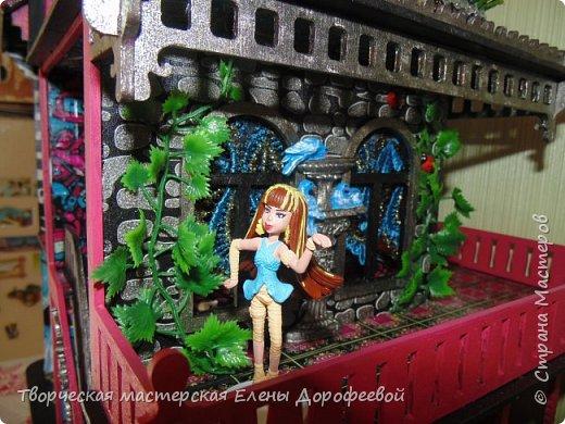 Кукольный замок в стиле Monster High фото 11
