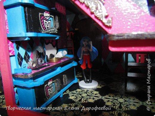 Кукольный замок в стиле Monster High фото 12