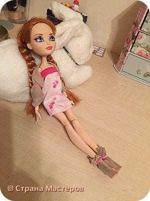 Показ нового наряда для моей новой куклы фото 10