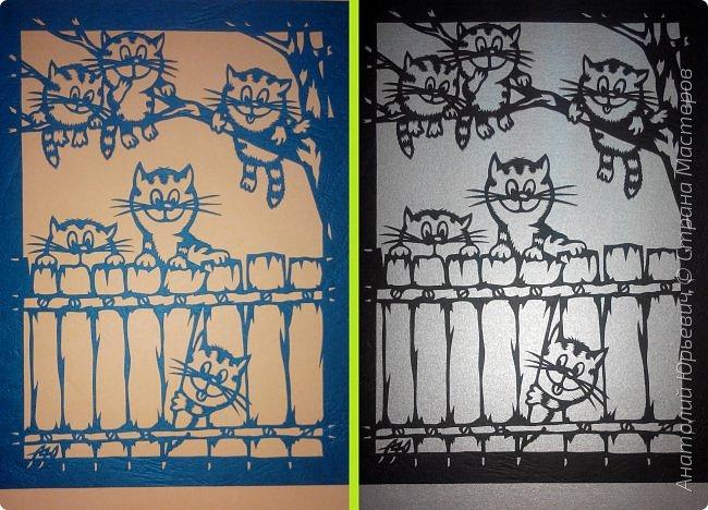 """- Всем добрый день! Вашему вниманию новая открытка которая порадует не только детей, но и взрослых. - Эскиз был выполнен, изменён и доработан под """"вырезалку"""" по работе детского художника-иллюстратора Ирины Зенюк. - Размер 12х16см. (как всегда) фото 17"""