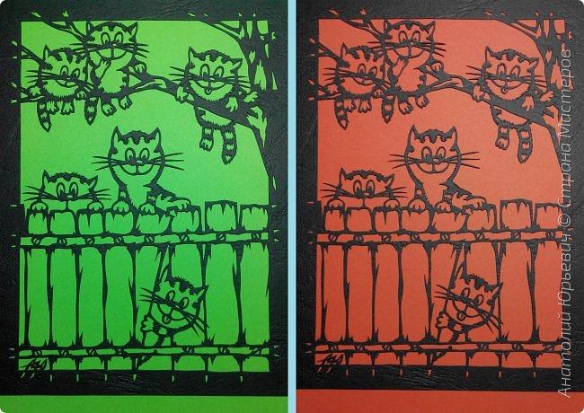 """- Всем добрый день! Вашему вниманию новая открытка которая порадует не только детей, но и взрослых. - Эскиз был выполнен, изменён и доработан под """"вырезалку"""" по работе детского художника-иллюстратора Ирины Зенюк. - Размер 12х16см. (как всегда) фото 16"""