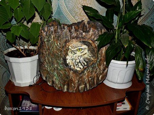 Имитация коры дерева на пенопласте... фото 2