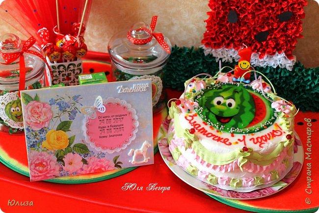 День Рождения моей доченьки в стиле Арбуз) фото 9