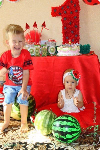 День Рождения моей доченьки в стиле Арбуз) фото 11