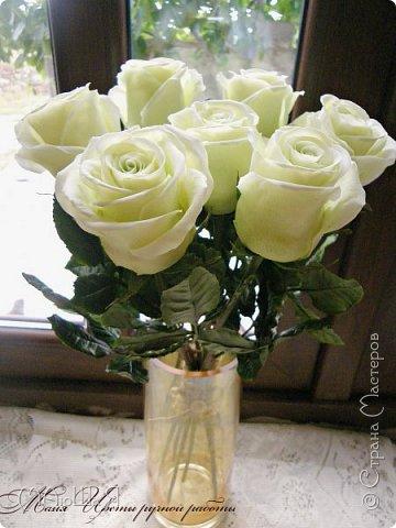 Здравствуйте, жители страны! Так как создавала много таких роз и много прекрасных откликов о них, решила снять немного фото процесса, надеюсь будет понятно и кому-нибудь пригодятся. Если что спрашивайте, опыта в мастер классах у меня нет. фото 1