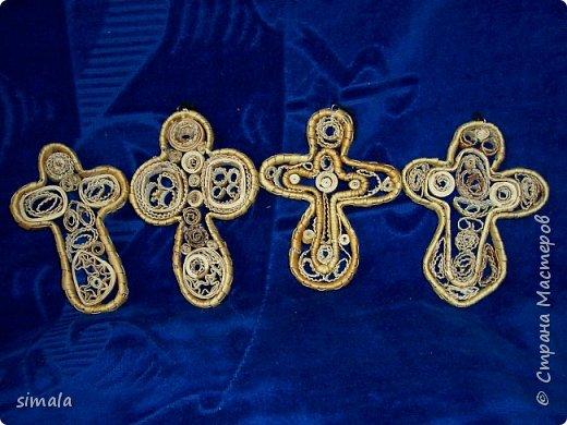 Берестяная скань- кресты. фото 3