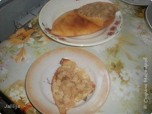 """Приветствую всех, кто любит узнавать  рецепты новых блюд и готовить по ним, а также всех просто  любопытных. К сожалению, почти 6 месяцев в году у меня нет возможности заниматься рукодельными работами, в это время я садовник-огородник-кулинар. В этих делах я тоже нахожу удовольствие Сегодня знакомлю вас с ещё одним блюдом татарской национальной кухни. Как успели, наверное, заметить мои постоянные гости, наши блюда очень сытные. Вот вам ещё один такой пирог, пирог-полумесяц. В кулинарных книгах он называется  """" бөккән"""" (от """"защипнуть"""") В нашей местности мы называем  """"кәкри"""" (""""кривульки""""), а вот в соседнем районе Башкирии, где живёт моя двоюродная сестра, он уже  """"бөкри"""" (от """"горбатый"""" или """"с горбом""""). Неважно, как называется, он очень вкусный, сытный, из самых обычных продуктов и быстро готовится. фото 22"""