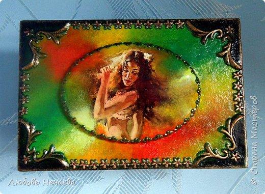 Намотка картона на 2л.банку (обрезана пополам).Детальки-хол.фарфор,на крышке гипсовая накладка фото 3
