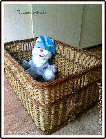 Всем доброго времени суток! А у меня сегодня короб для детских игрушек. Размеры: 50 см * 35 см * 35 см (длина, ширина, высота).   фото 1