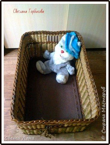 Всем доброго времени суток! А у меня сегодня короб для детских игрушек. Размеры: 50 см * 35 см * 35 см (длина, ширина, высота).   фото 4
