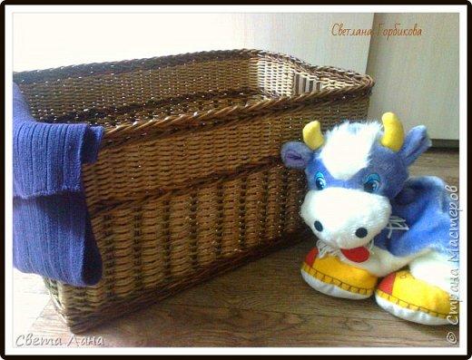 Всем доброго времени суток! А у меня сегодня короб для детских игрушек. Размеры: 50 см * 35 см * 35 см (длина, ширина, высота).   фото 2