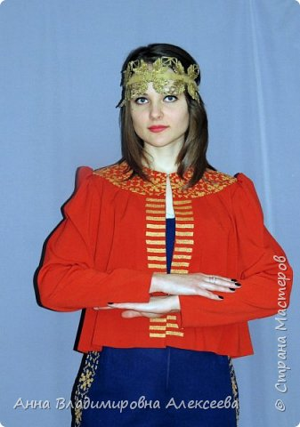 """Коллекция женской одежды """"В Русских традициях"""" фото 16"""