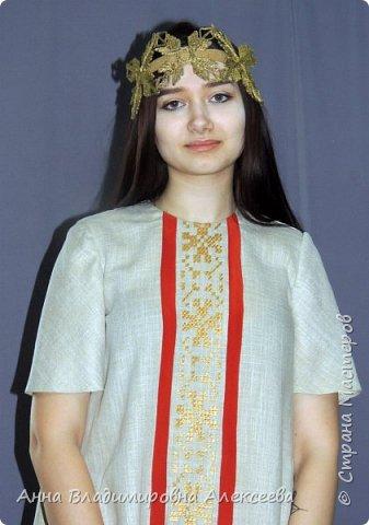 """Коллекция женской одежды """"В Русских традициях"""" фото 11"""