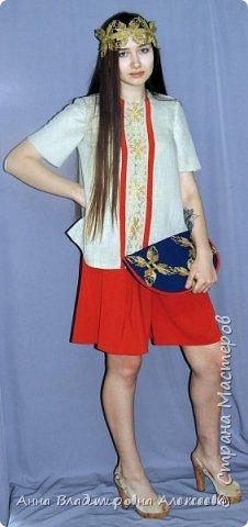 """Коллекция женской одежды """"В Русских традициях"""" фото 10"""