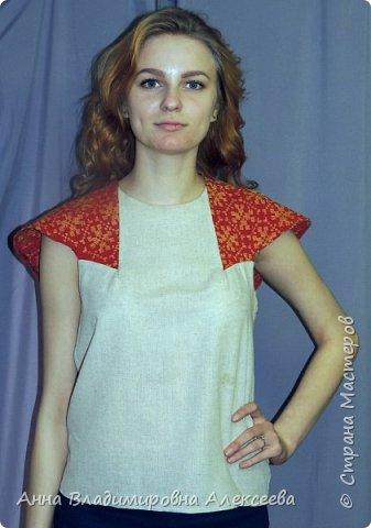 """Коллекция женской одежды """"В Русских традициях"""" фото 7"""