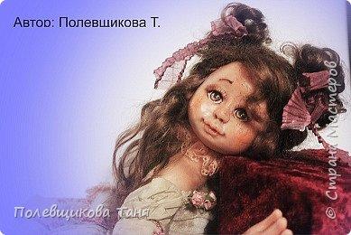 Авторская кукла: Верочка. фото 7