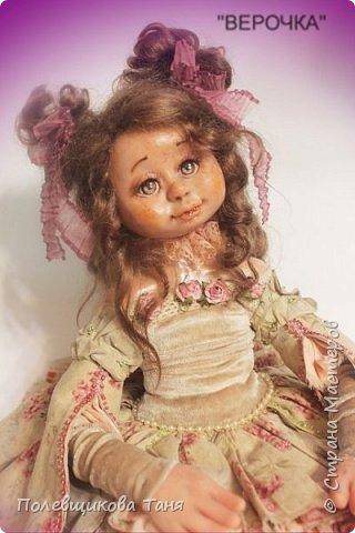 Авторская кукла: Верочка. фото 14