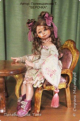 Авторская кукла: Верочка. фото 1