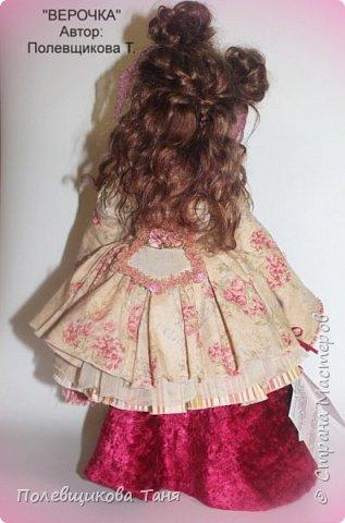 Авторская кукла: Верочка. фото 12
