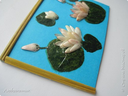 """Всем большущий  привет! Представляю вам АТС карточки """"Живые краски мира"""". Живые краски мира - это цветы. Карточки  можно отнести к Эко стилю наверное, ну и посвятить окончанию лета.   Техника аппликация. Цветы составлены из лепестков гелихризума (бессмертник); использовала листья липы, рябины и клёна, овсяную солому. Для сохранности покрыла аэрозольным лаком, листья подкрашивала акварельными красками. Середина цветов - вата, мак.  Я должна карточки мастерицам Элайджа http://stranamasterov.ru/user/399311 (за """"Ягодный микс""""),  Нельча (Неля) http://stranamasterov.ru/user/425110 (за """"Древо жизни""""),  ИРИСКА 2012 (Ирина) http://stranamasterov.ru/user/191152 (за """"Деревья""""),  Фасинасьён (Татьяна) http://stranamasterov.ru/user/197116 (за """"Дверца в сад""""),  Самурайчик (Ирина) http://stranamasterov.ru/user/47165 (за АТС мини серия) и   Torkin (Инна)  http://stranamasterov.ru/user/420446 (за """"Барджелло"""") прошу их выбирать, если им понравиться.  фото 12"""