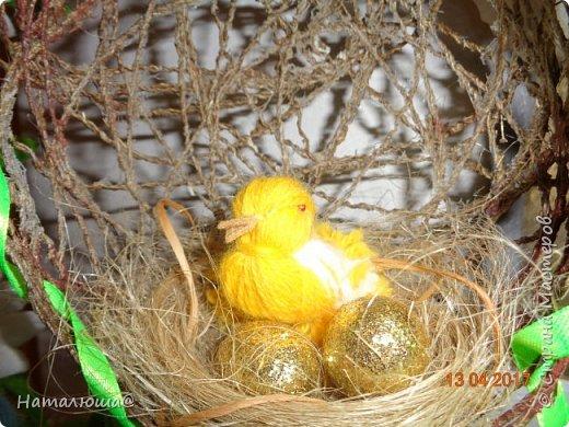 Пасхальная поделочка. Птичек подсмотрела у мастериц страны. фото 3