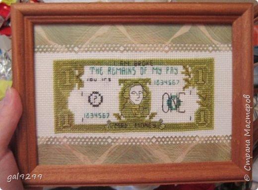 Подборка вышивки, которую можно дарить мужчинам. Схема от РИОЛИС. Оформлено  в скрапбумагу, края сделаны дыроколом края, украшена шильдиком с надписью от студии Артемия Лебедева. фото 10