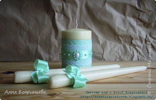 Всем привет!!!!! Вот наконец то руки дошли показать вам, свадебный мятный набор. Сделала его еще в июле, а свадьба была 25 августа. Цвет, оформление все пожеланию жениха и невесты. вот он в полном составе фото 9